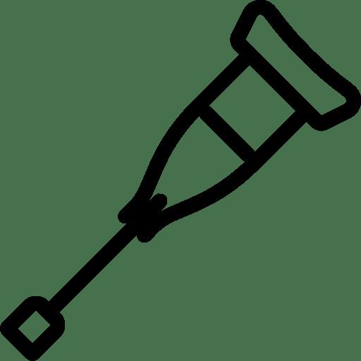 Healthcare-Crutch icon