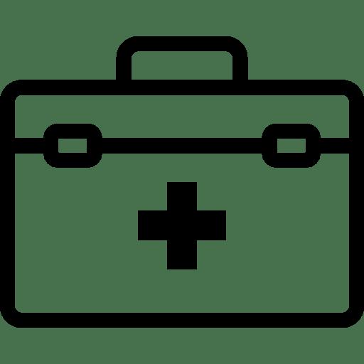 Healthcare Doctor Suitecase icon