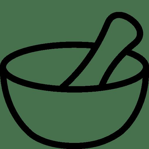 Healthcare-Mortar-And-Pestle icon