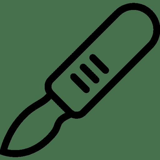 Healthcare Scalpel icon