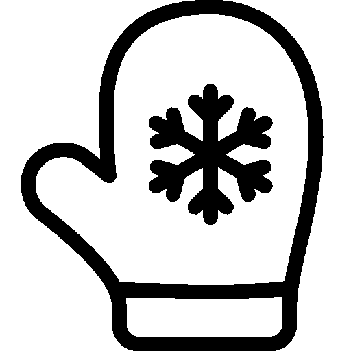 Holidays-Christmas-Mitten icon