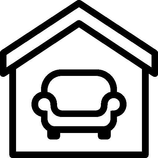 Household Interior Icon PNG File 512x512 Pixel