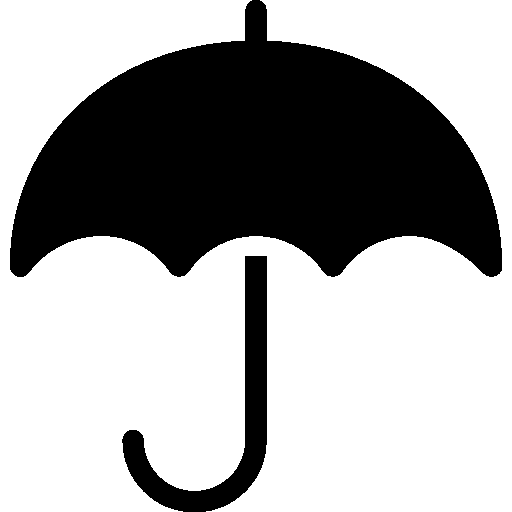 Household Umbrella Filled icon
