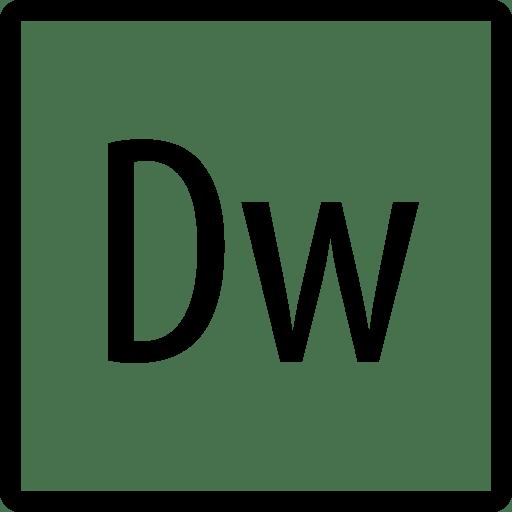 Logos Adobe Dreamweaver Copyrighted icon