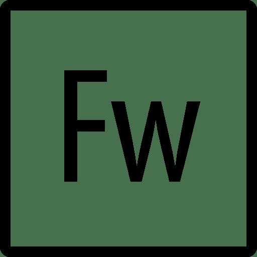 Logos-Adobe-Fireworks-Copyrighted icon