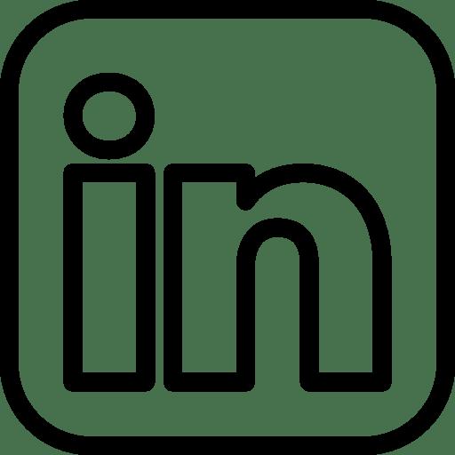 logos linkedin icon