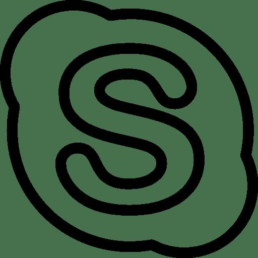 Logos-Skype-Copyrighted icon