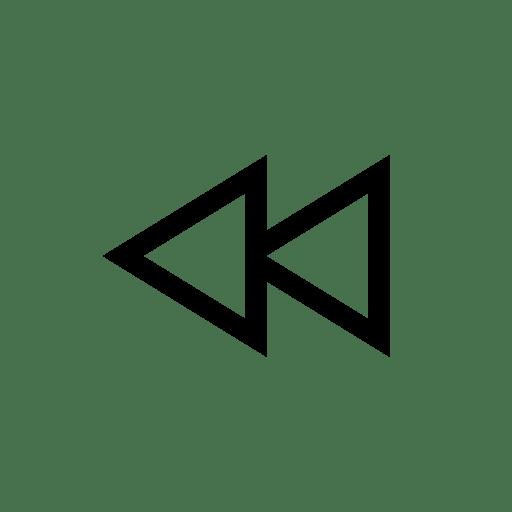 Media Controls Rewind icon