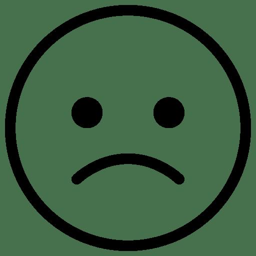 Messaging-Sad icon