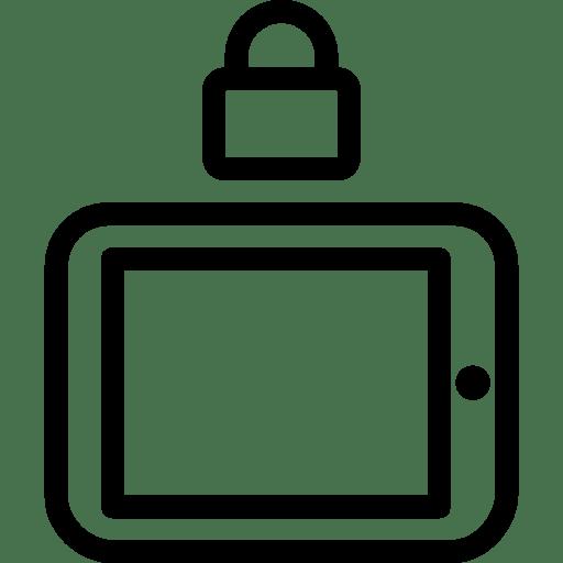 Mobile Lock Landscape icon