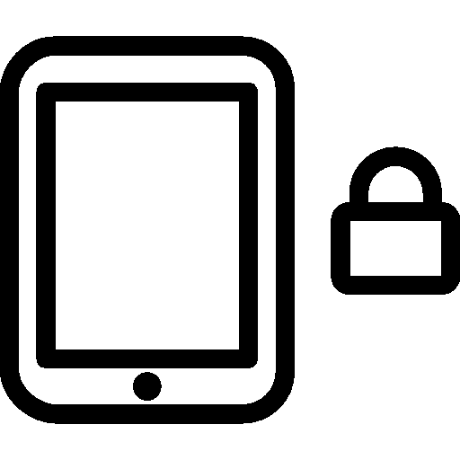Mobile Lock Portrait icon