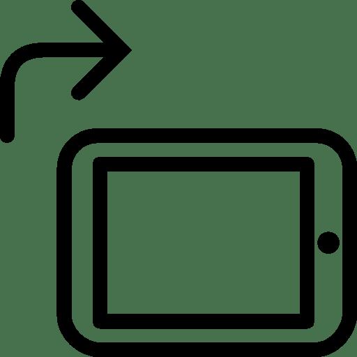 Mobile-Rotate-To-Portrait icon