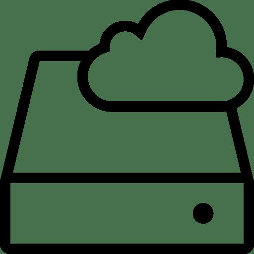 Network-Cloud-Storage icon