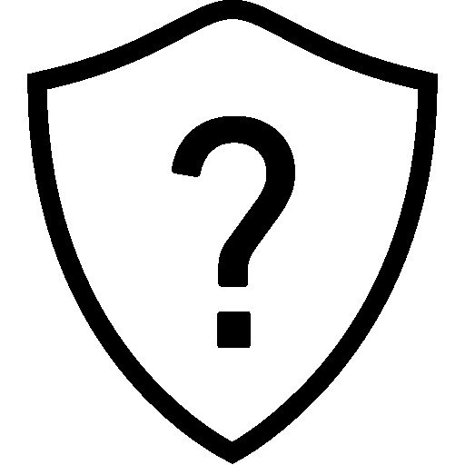 Network Question Shield icon