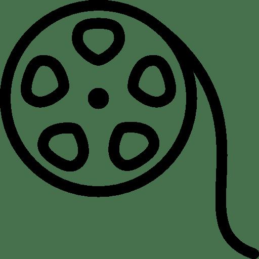Photo-Video-Film-Reel icon