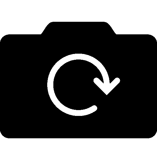 Photo Video Rotate Camera Filled icon