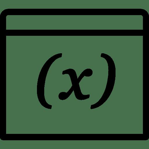 Programming Variable icon