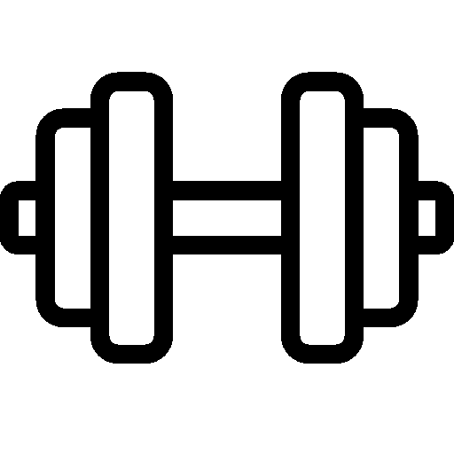 Dumbbell Icon Vector Sports Dumbbell Icon |...