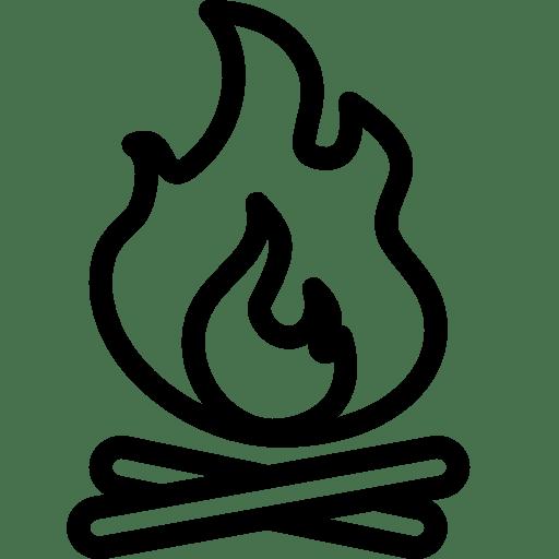 Travel-Campfire icon