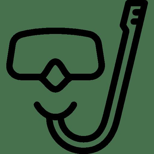 Travel Mask Snorkel icon