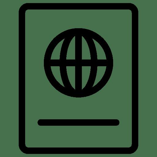 Travel-Passport icon