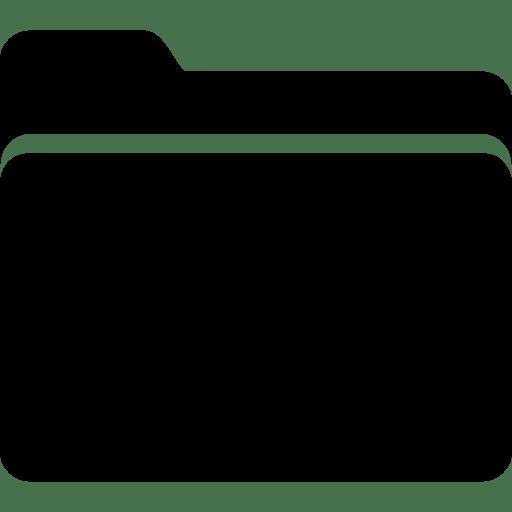 Very Basic Folder Filled icon