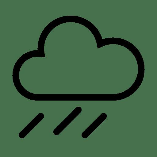Weather Downpour icon