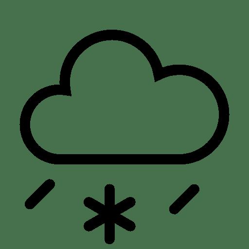 Weather-Sleet icon
