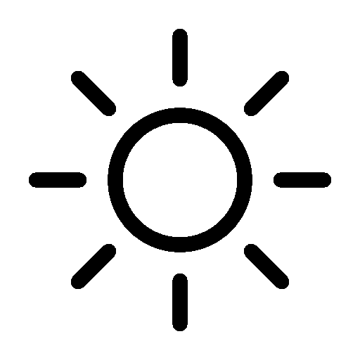 Weather-Sun icon