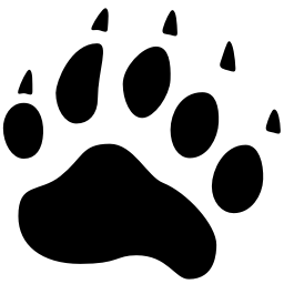 Animals Bear Track icon