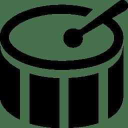 Music Bass Drum icon