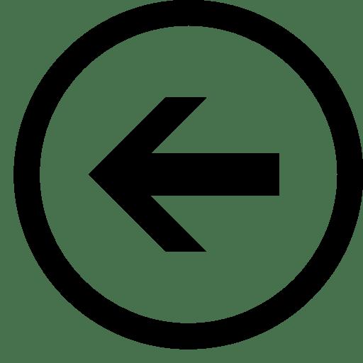 Arrows-Left-Round icon