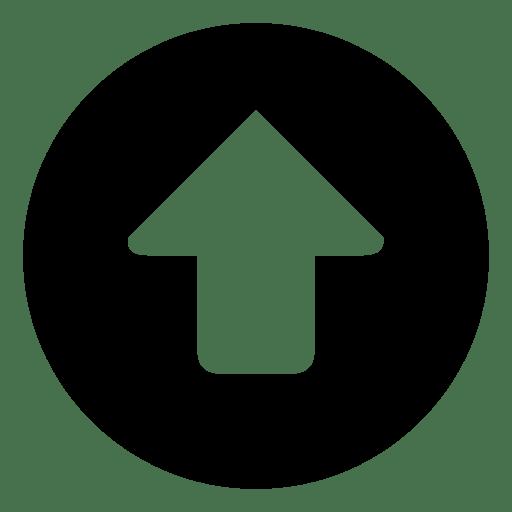 Arrows Up Circular icon