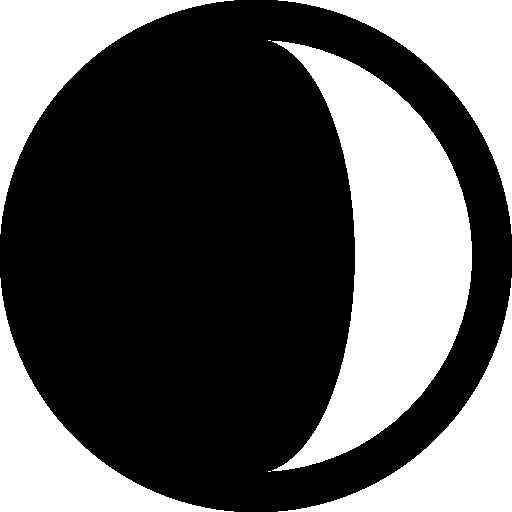 Astrology-Waxing-Crescent icon