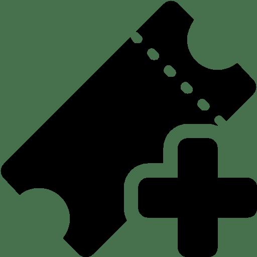 Cinema-Add-Ticket icon