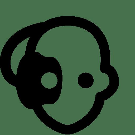 Cinema Borg Head Icon | Windows 8 Iconset | Icons8