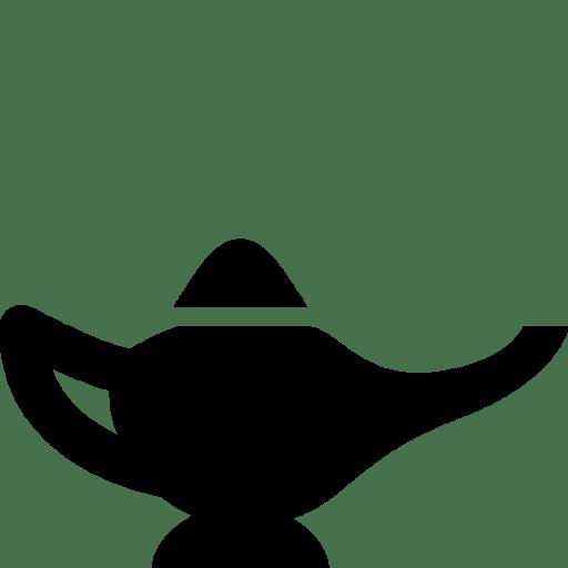 Cinema Magic Lamp Icon