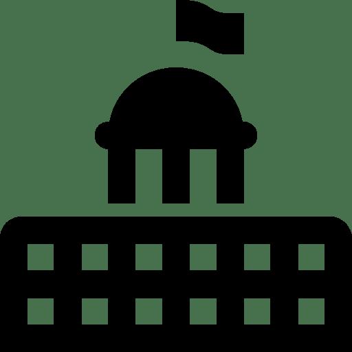 City Hall Map Symbol