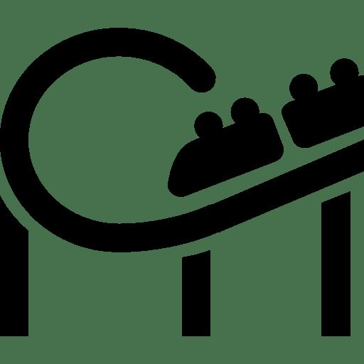 City Roller Coaster Icon   Windows 8 Iconset   Icons8
