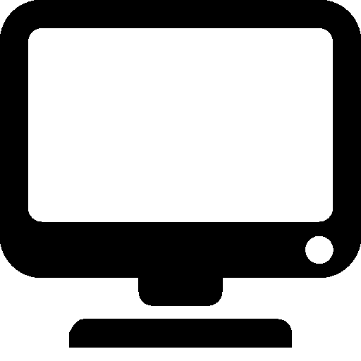 Computer Hardware Monitor Icon | Windows 8 Iconset | Icons8