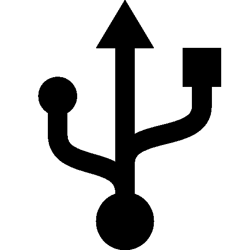 Computer Hardware Usb Connector icon