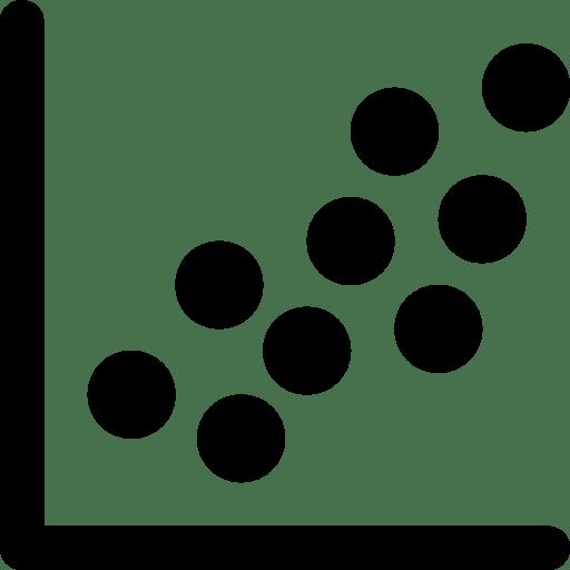 Data-Scatter-Plot icon