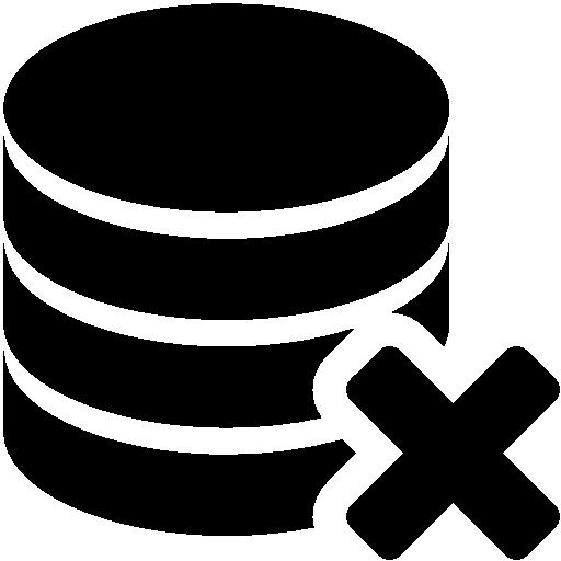Database-Delete icon