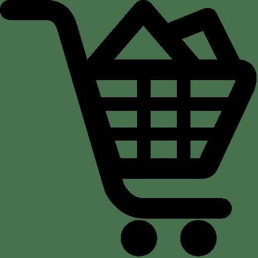 Ecommerce-Shopping-Cart-Filled icon
