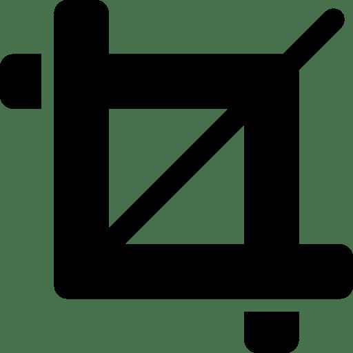 Editing-Crop icon