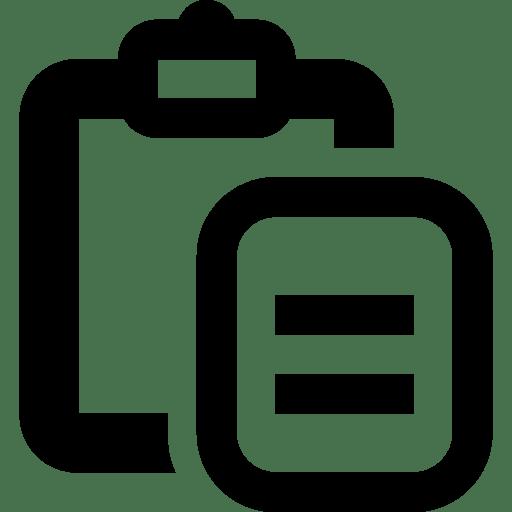 Editing-Paste icon