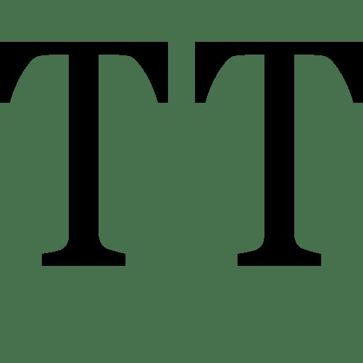Editing Uppercase icon