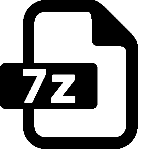 Files 7zip icon windows 8 iconset icons8 for Window zip file