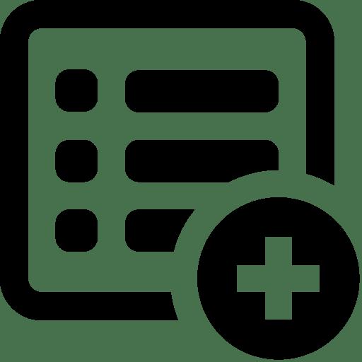 Files-Add-List icon