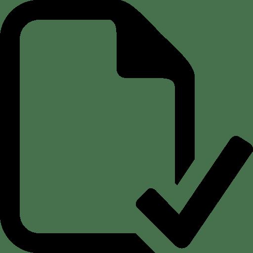 Files Check File icon